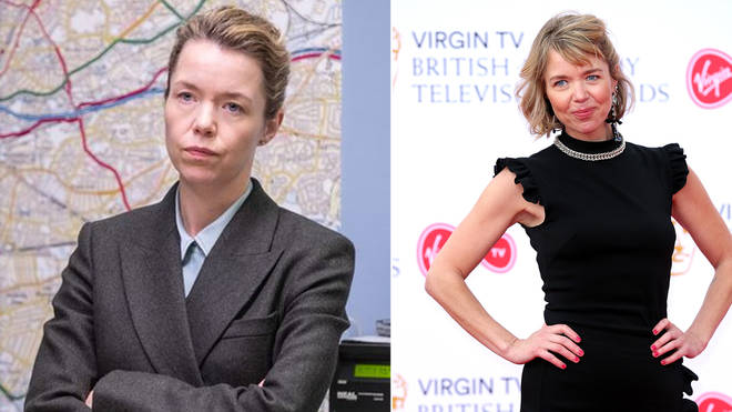 Patricia Carmichael is played by Anna Maxwell Martin