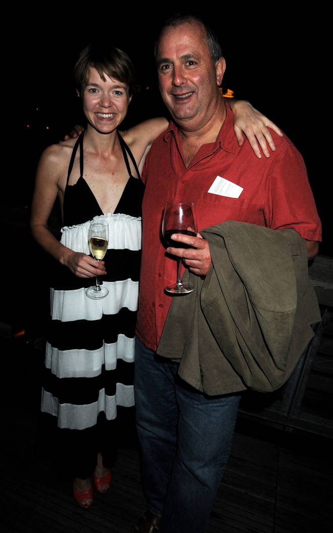 Anna Maxwell Martin and her ex Roger are no longer together