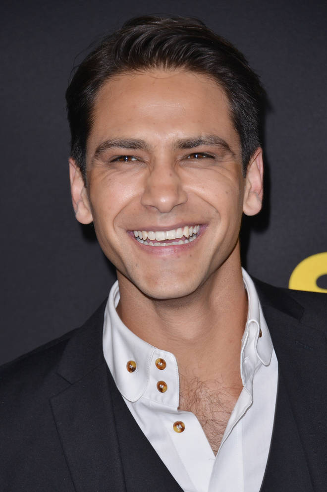 Luke Pasqualino plays David Kostyk