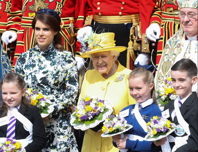 Princess Eugenie said they the rest of the Royal Family will 'look after Granny'