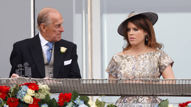 Princess Eugenie will join the royal family at Prince Philip's funeral on Saturday