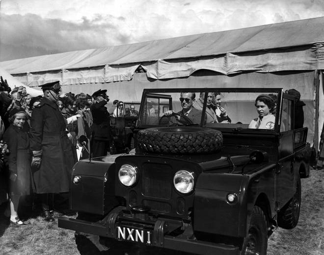 Prince Philip has always had a passion for the British car brand