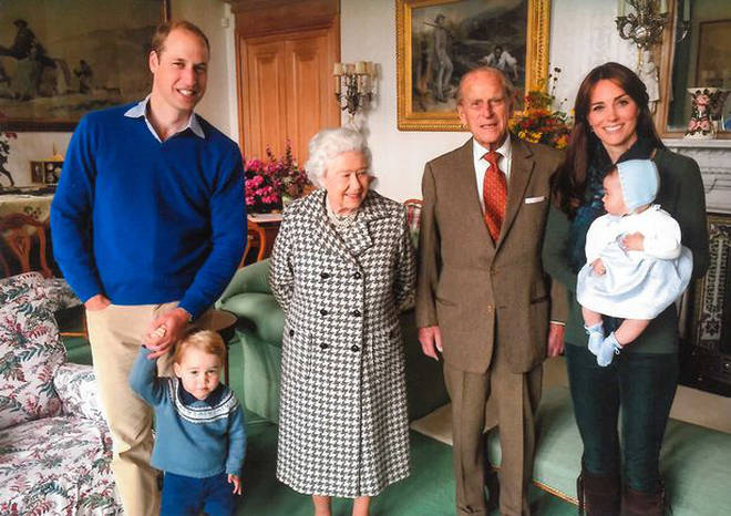 The Royal family shared several unseen photos