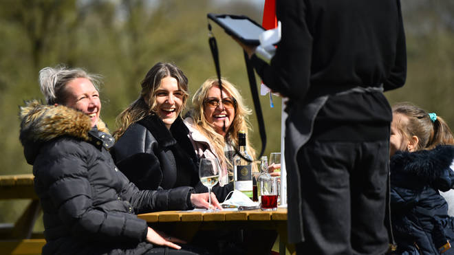 This week's cold weather will be replaced by 15C sunshine on Saturday