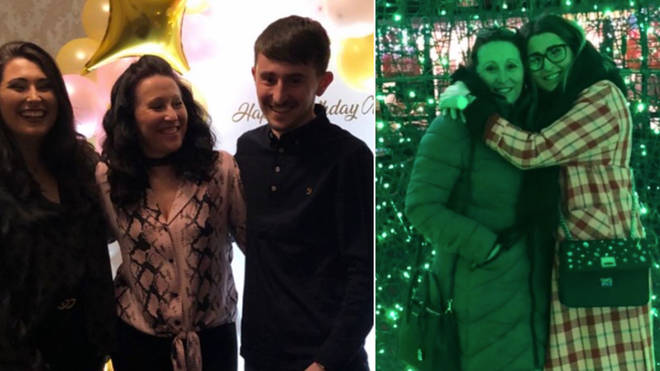 Pete and Sophie Sandiford have shared photos of their mum