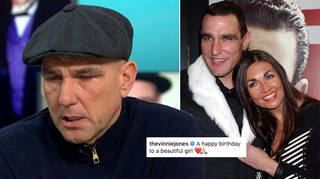 Vinnie Jones has shared a tribute to his late wife
