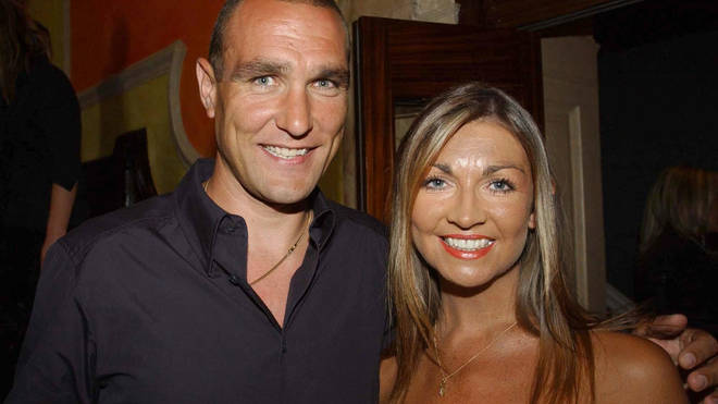 Vinnie Jones lost his wife Tanya to cancer in 2019