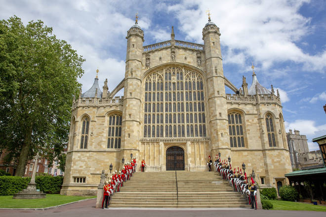 St. George's Chapel is close to Windsor Castle