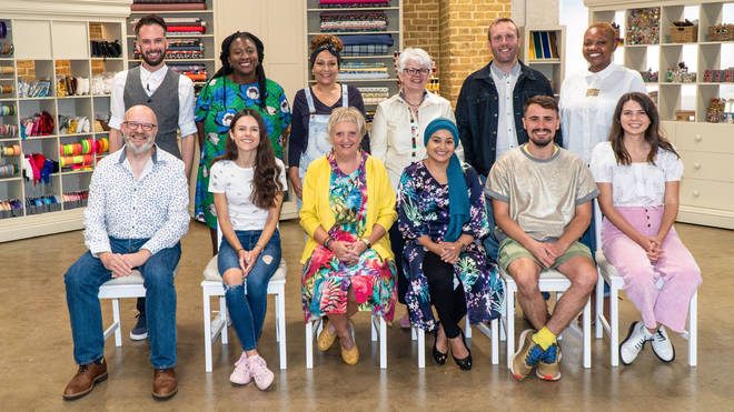 There are 12 new contestants taking part in the Great British Sewing Bee