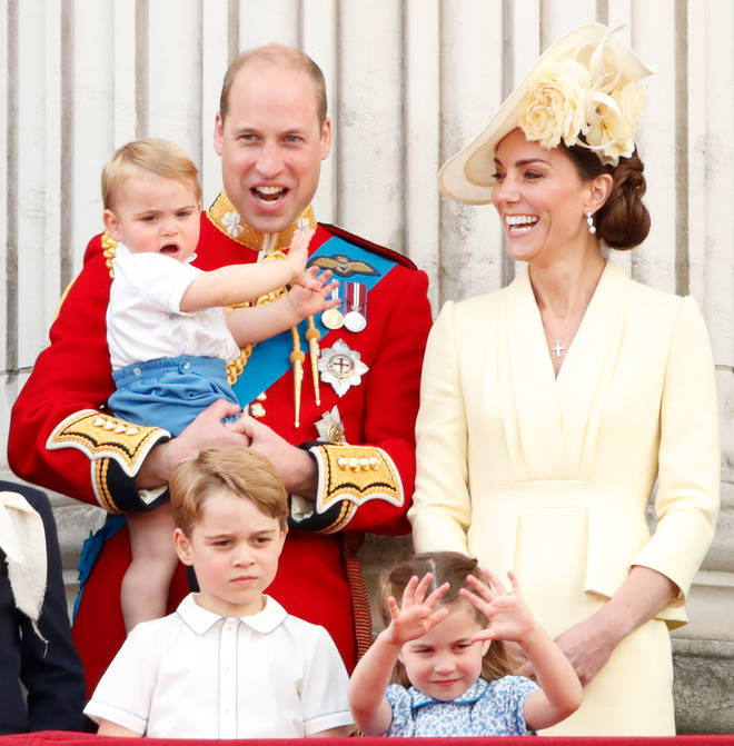 Prince William and Kate Middleton have three children