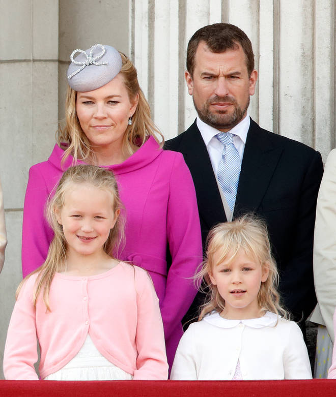Peter Phillips and Autumn Kelly have two children