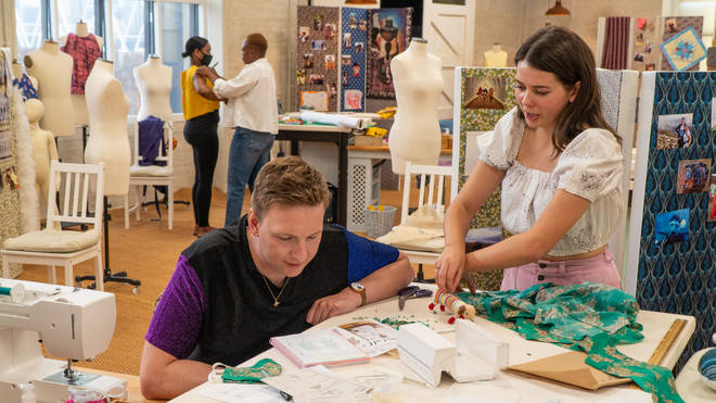 Joe Lycett is back to present the Great British Sewing Bee