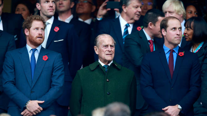 Prince Harry and Prince William will walk behind the Duke of Edinburgh's coffin