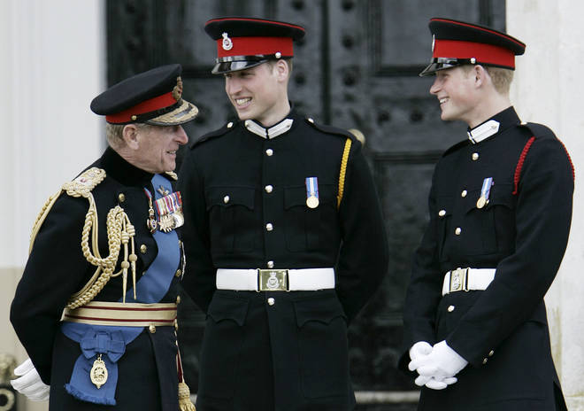 Prince William and Prince Harry will not walk side by side at the Duke's funeral