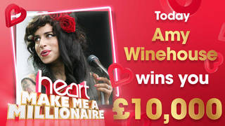 Amy Winehouse could win you £10,000 today!