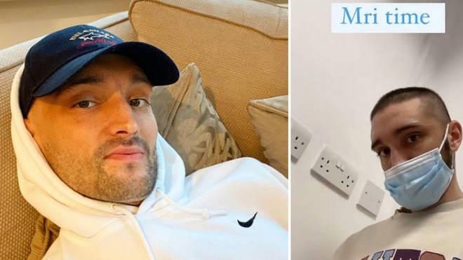 Tom Parker has undergone an MRI scan