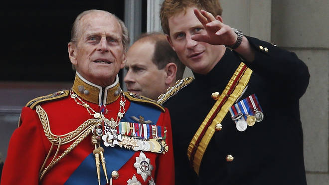 Prince Harry described his grandfather as a 'legend of banter'
