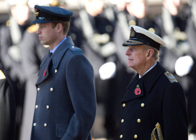 Prince William released a statement shortly after the Duke's death