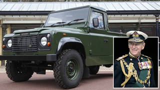 Prince Philip's coffin will be carried to St George's Chapel in a Land Rover