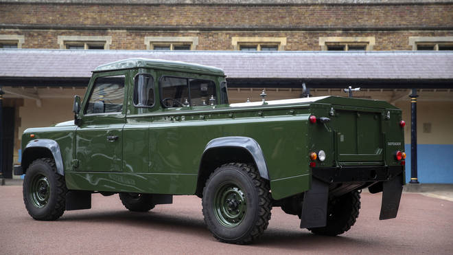 Prince Philip requested the Land Rover be 'military green'