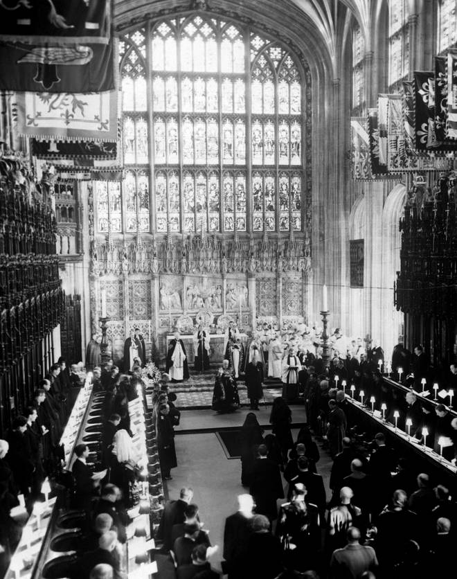 The last state funeral was that of Queen Elizabeth's father King George VI in 1952