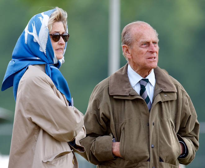 Penelope Knatchbull was a close friend and confidante to Prince Philip