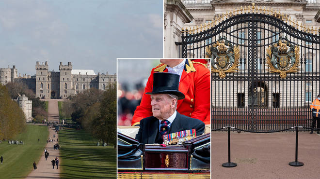 Prince Philip will be buried in the royal vault of St George's Chapel