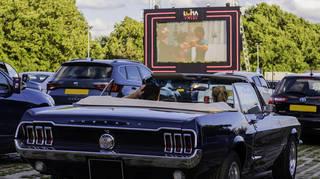 Luna Drive In Cinema Grease