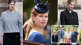 Lady Louise Windsor will attend Prince Philip's funeral this weekend
