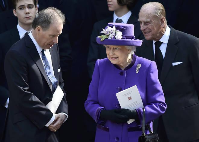 The Earl is the Queen's nephew