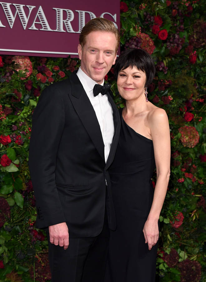 Helen's husband Damian Lewis said he was 'heartbroken' over the loss