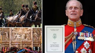 Prince Philip will be laid to rest at St George's Chapel in Windsor Castle today