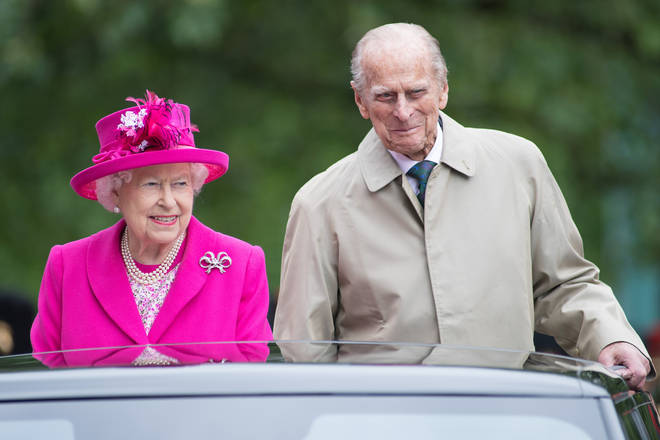 The Queen and Prince Philip, pictured in 2016