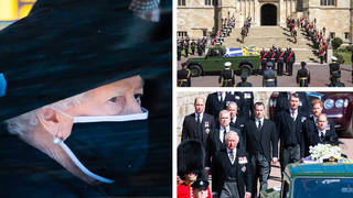 Pics from Prince Philip's funeral
