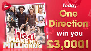 One Direction could win you £3,000 today!