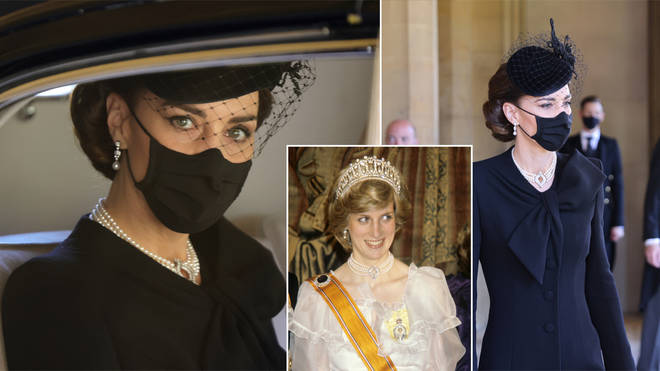 Kate Middleton made a touching tribute to the Queen and Princess Diana