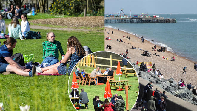 The weather is set to hit 18C today