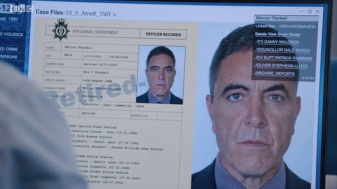 James Nesbitt is playing bent copper Marcus Thurwell in Line of Duty