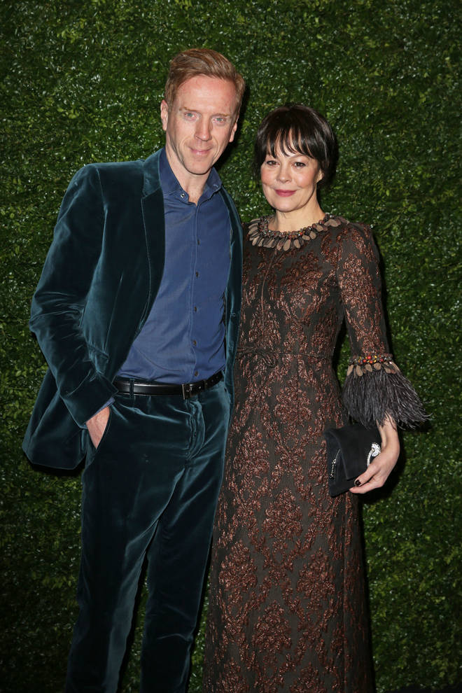 Helen McCrory and Damian Lewis got married 14 years ago