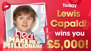 Lewis Capaldi could win you £5,000 today!