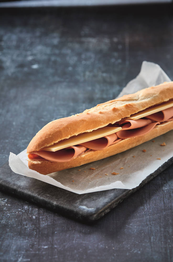 The new baguette will cost £2.95