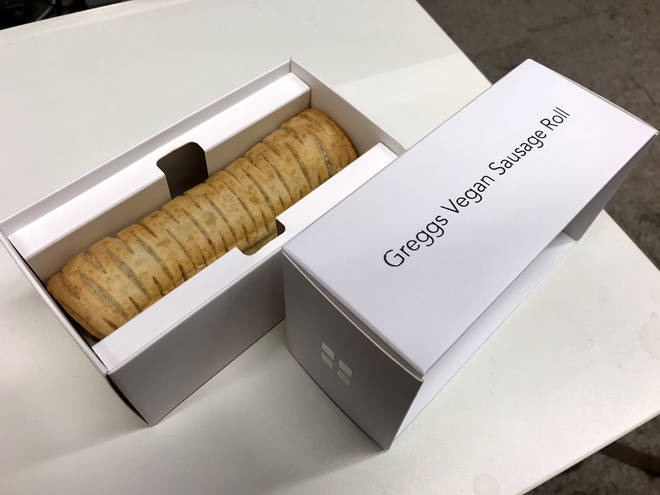 The Greggs Vegan Sausage Roll was launched in 2019
