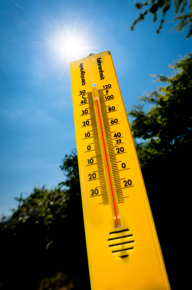 The mercury is set to rise to 32 degrees