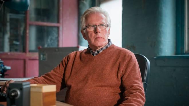 Phil Davis plays DI Liam Cox in Viewpoint