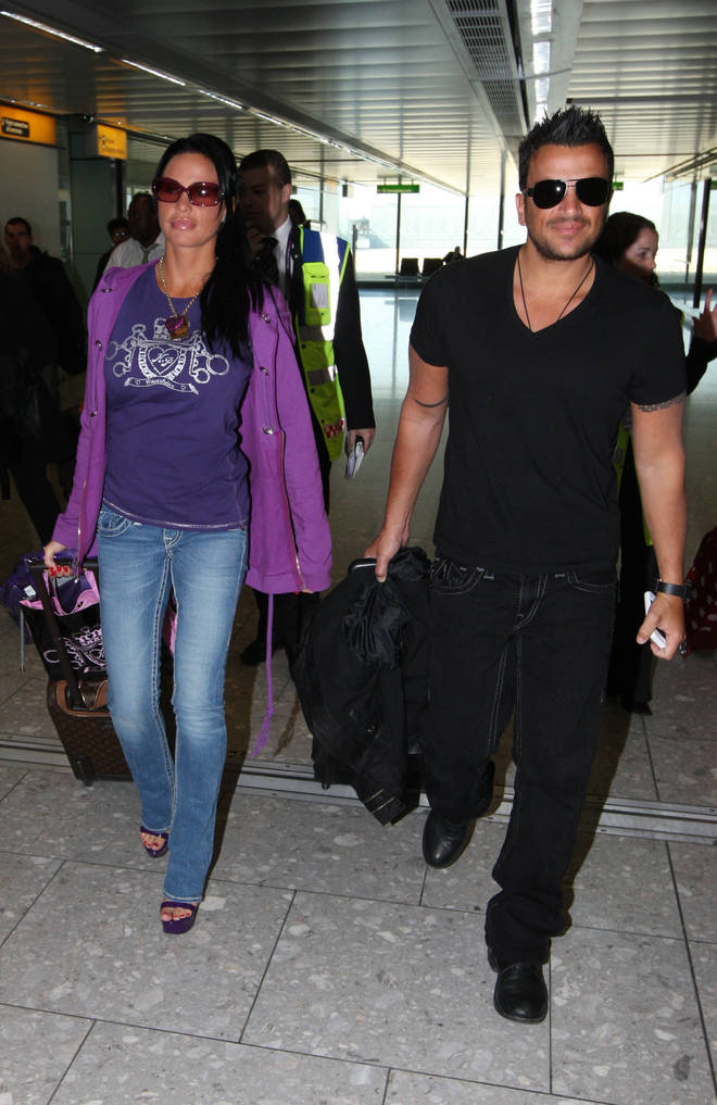 Karie Price and Peter Andre were married for three years