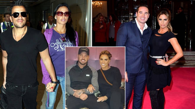 Katie Price has been married three times