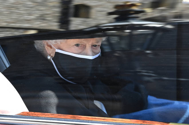 The Queen attended Prince Philip's funeral on Saturday