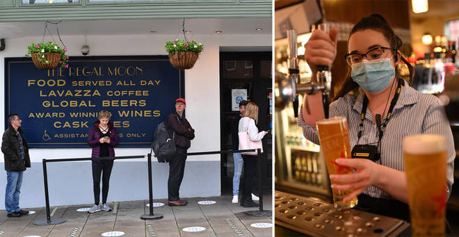 Wetherspoons will reopen a number of pubs across the UK next week