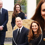 Kate and William visited an Air Training Corps in East London today