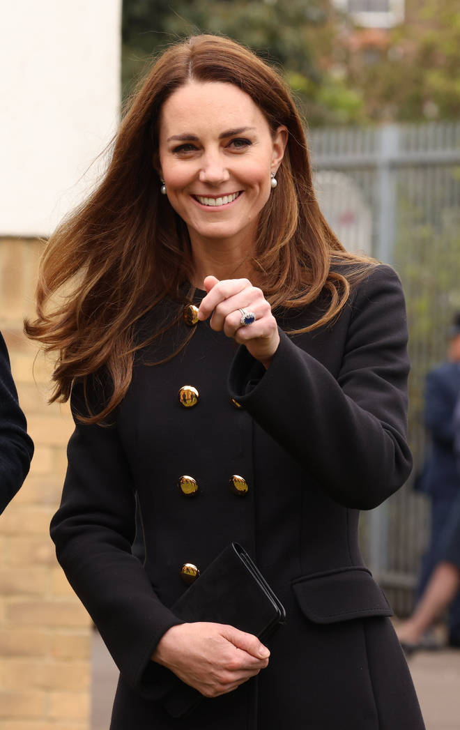 The Duchess of Cambridge was made Commandant-in-Chief in 2015